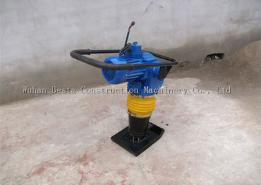 100% Copper Coil Electric Rammer Jumping Jack Machine Upright Compactor 75KG 16kn